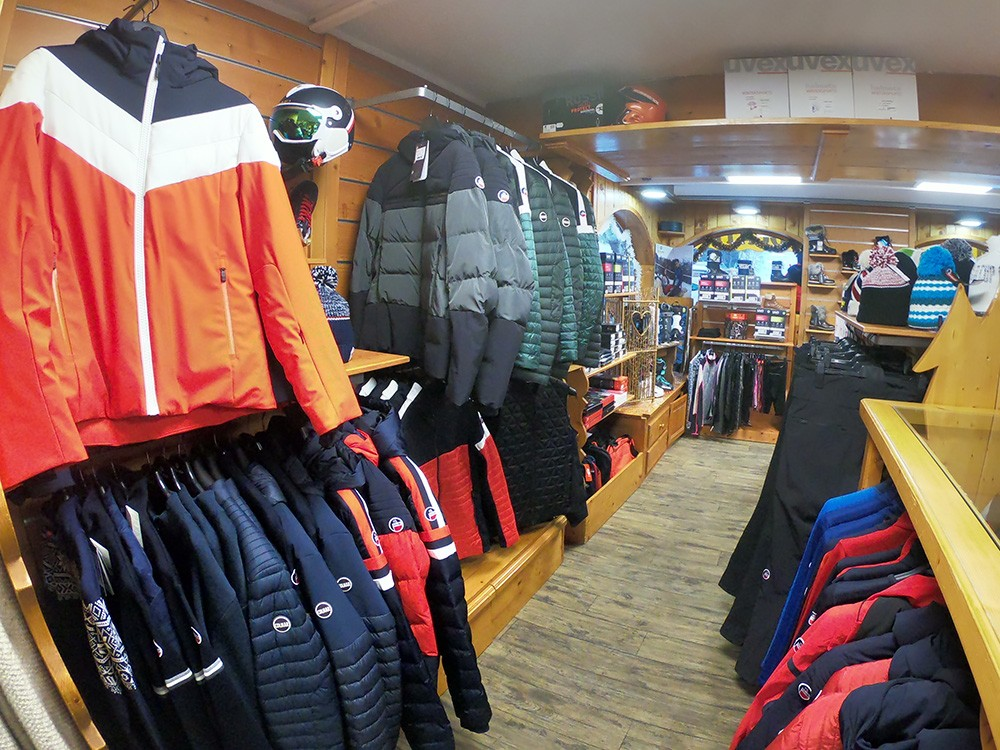 Sport shop in Courchevel Le Praz